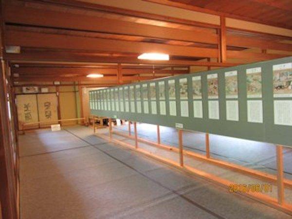 石山寺54歩で源氏物語