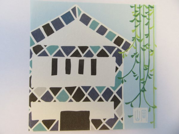 にっぽん折り紙、倉敷の美観地区