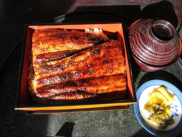 滋賀県大津のうなぎ屋大谷茶屋