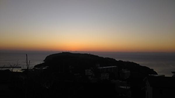 真鶴岬の初日の出