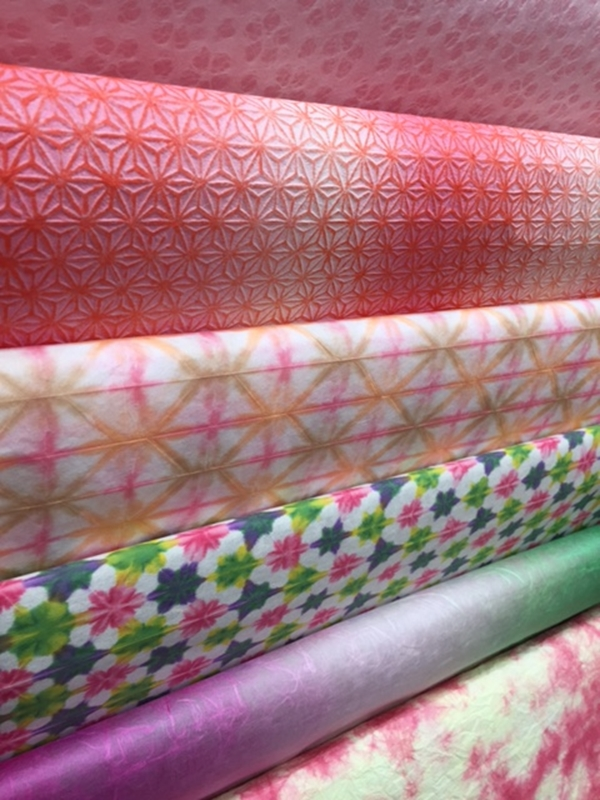 桜柄の和紙