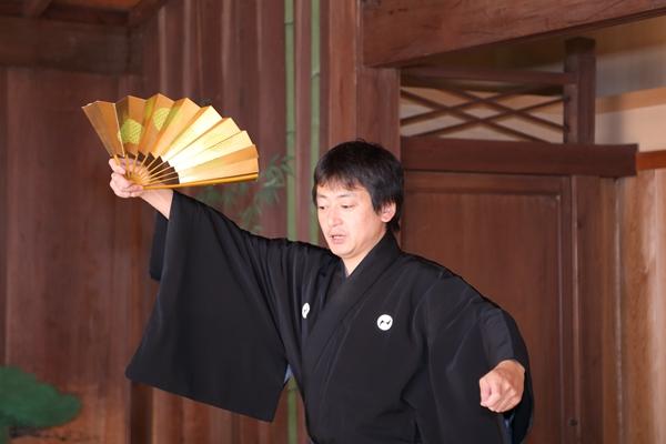 久良岐能舞台での練習