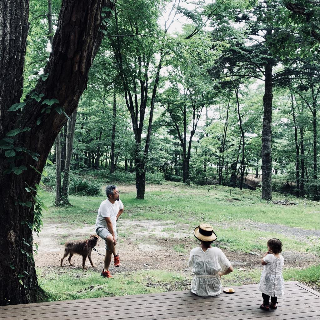 北軽井沢 ルオムの森 grannehantverk 家具 デザイン 製作所
