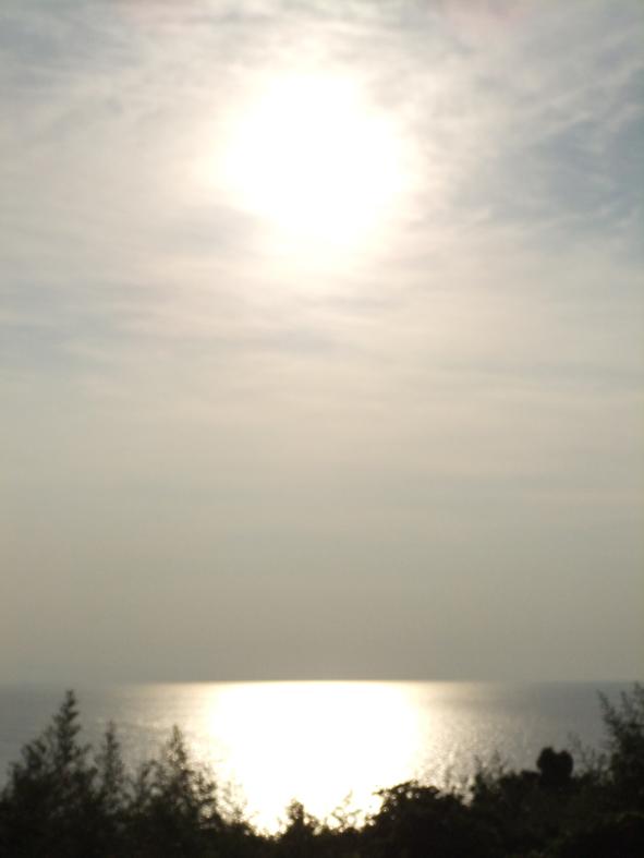 国東の夕日