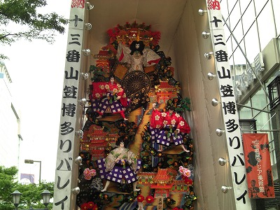 荘厳な博多祇園山笠