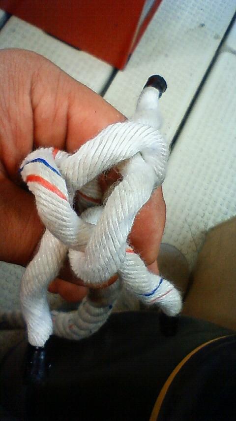 ロープ端末処理 (1)