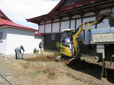 永代供養納骨墓設置工事