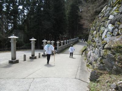 焼山寺参道