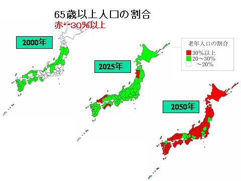 2050年の日本