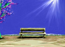 夏の空の出来事.