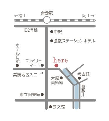 倉敷物語館(倉敷美観地区内)地図