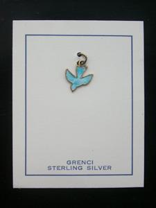 青い鳥のチャーム