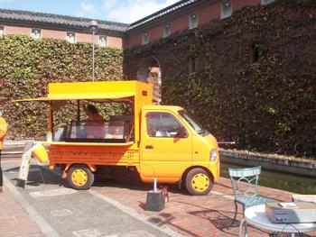 早雲蜜芋の店舗車両