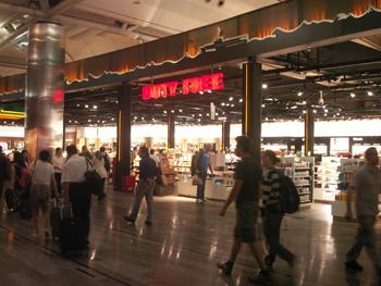 イスタンブールのアタチュルク国際空港
