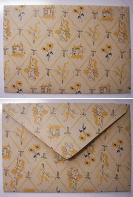 デイジーストアオリジナル封筒(メルヘンなウサギさん)