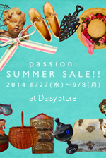 2014年8/27〜9/8 passion SUMMER SALE!!