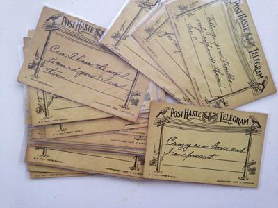 1900年代のポストカード