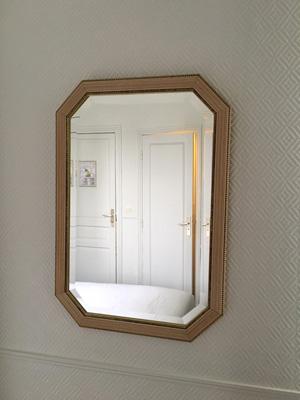 パリのホテル:鏡