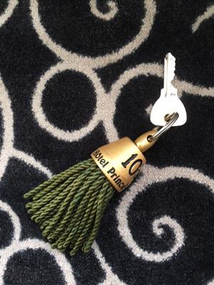 パリのホテル:タッセルキーホルダー