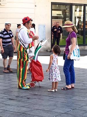 フランスの バルーンアーティスト