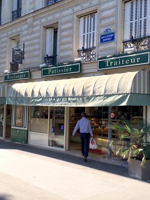 パリのパン屋さん(ブーランジェリー)