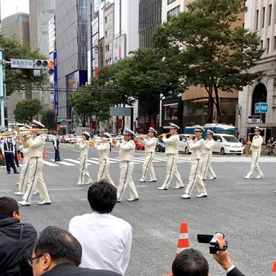 警察音楽隊のパレード(日本)