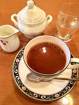 自家焙煎珈琲屋でコーヒータイム