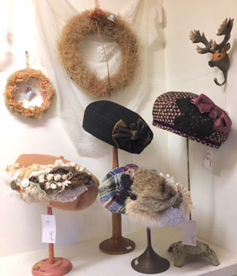 partina de coronさんの帽子