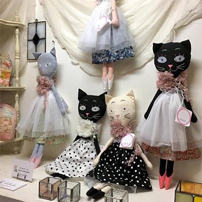 cororo_neko_dollsさんの猫人形