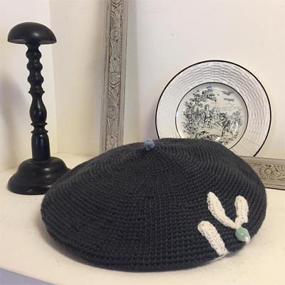 ho・ho・u*さんのヤドリギのベレー帽