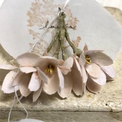 lafilletteさんの桜のピアスとイヤリング