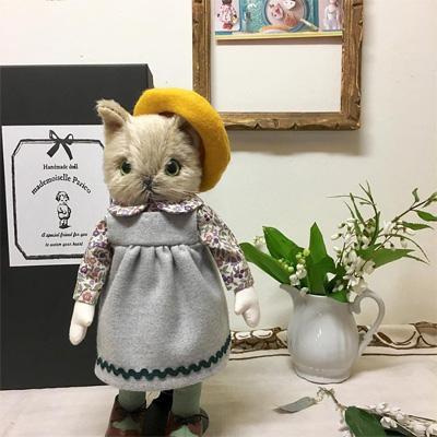 パリco さんの猫人形1