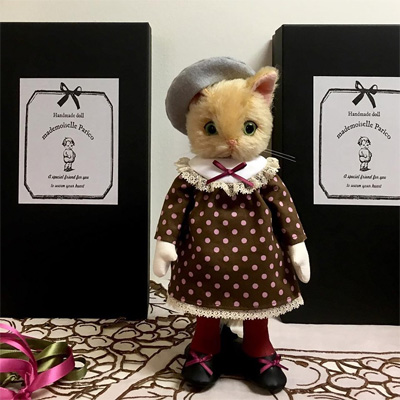 パリco さんの猫人形3