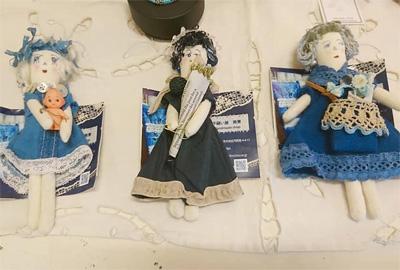 青とガラス展 misaeohsawaさんのお人形