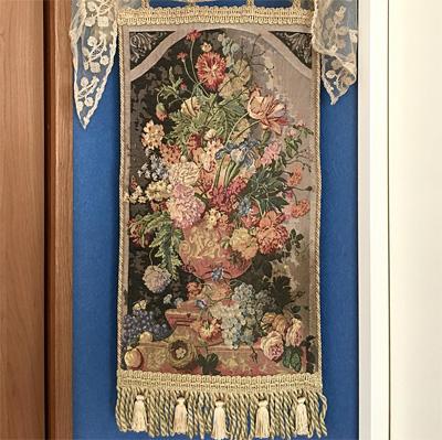 ゴブラン織りの壁飾り