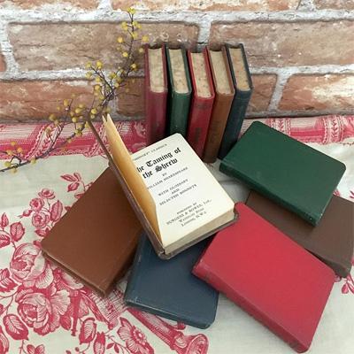 シェイクスピアの戯曲のミニチュアブック