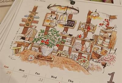 高原泉さんのカレンダー