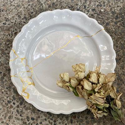 ムスティエの大皿(直径34cm)