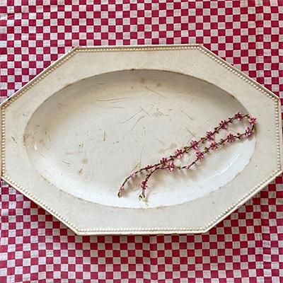 19c クレイユ・モントロー  オクトゴナルの大皿