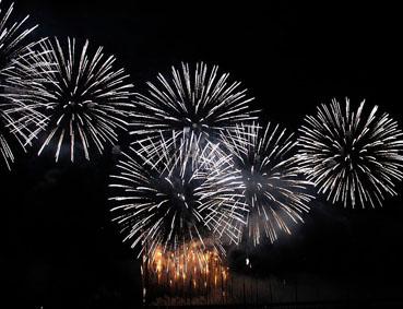 新年花火1
