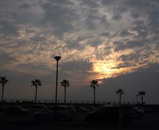 サンセットの夕日09