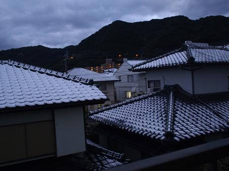 長崎初雪1