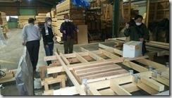 小原木材? 板倉パネル製作ライン 2020年4月12日