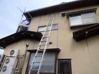 雨漏り110番富山店施工事例長年のシミ