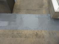雨漏り施工事例カーテン