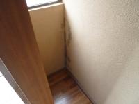 雨漏り富山施工事例、ブロック造