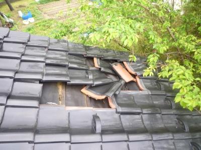 雨漏り施工事例小林