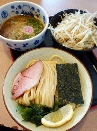 大勝軒 てつの「塩つけ麺」(期間限定:+炒め野菜)・・・