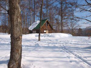 映画の撮影にも使われた小屋