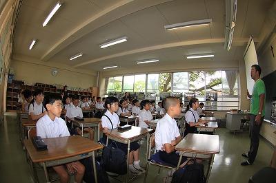 聖マリア小学校にて講演 | 海さ...